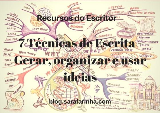 7 Técnicas de Escrita - Gerar, organizar e usar ideias