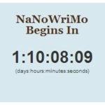 NaNoWriMo 2012 – Contagem decrescente