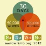 NaNoWriMo 2012 – Sobre a Intuição, os Brócolos e Persistir