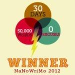 NaNoWriMo 2012 – Diário de Bordo deste ano