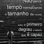 Palavras Soltas: Sem medo da escada