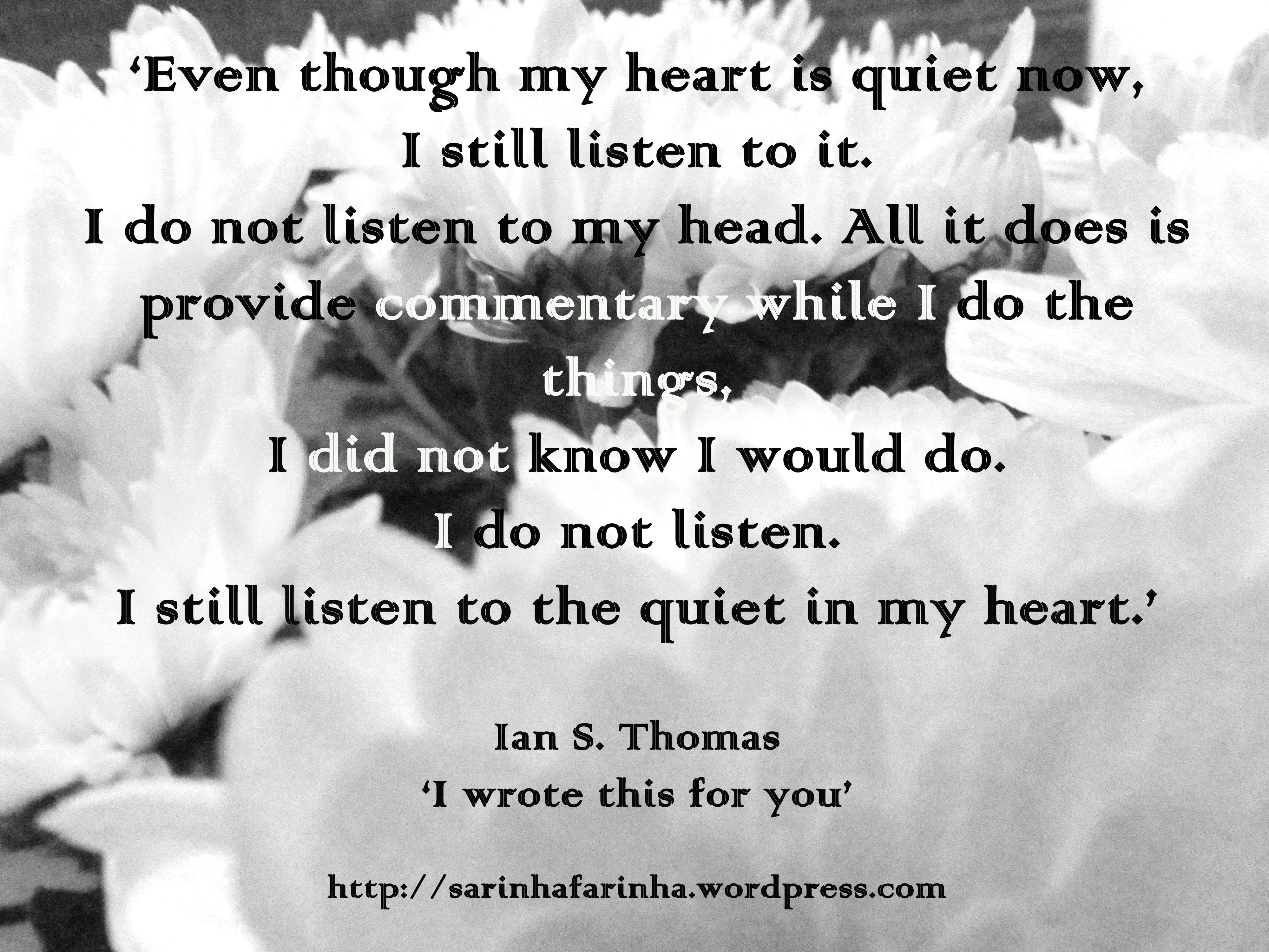 quiet in my heart_Ian Thomas
