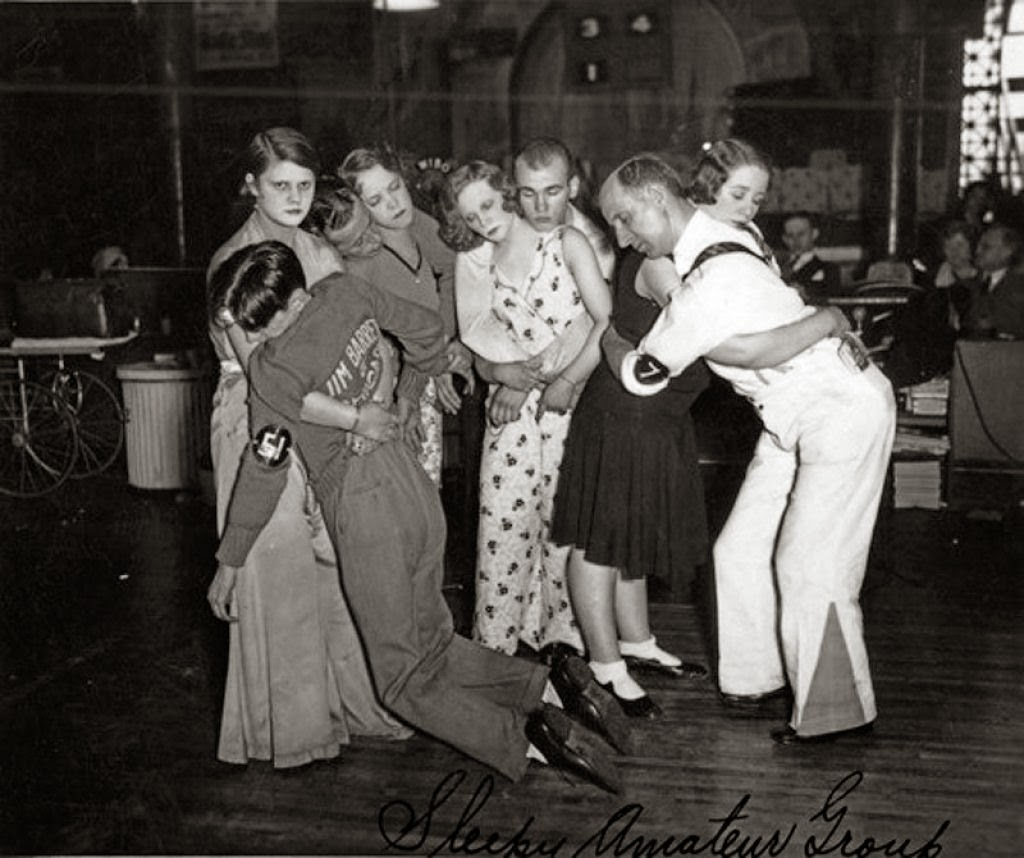 last-four-couples-at-the-chicago-dance-marathon-c.-1930