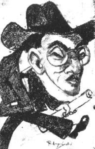 Caricatura de Rodriguez Castañe