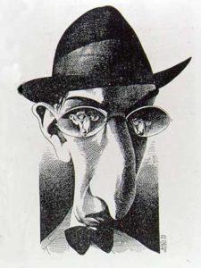 Caricatura de António