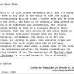 Escritos & Afins: Baú das Curiosidades – Cartas de Rejeição