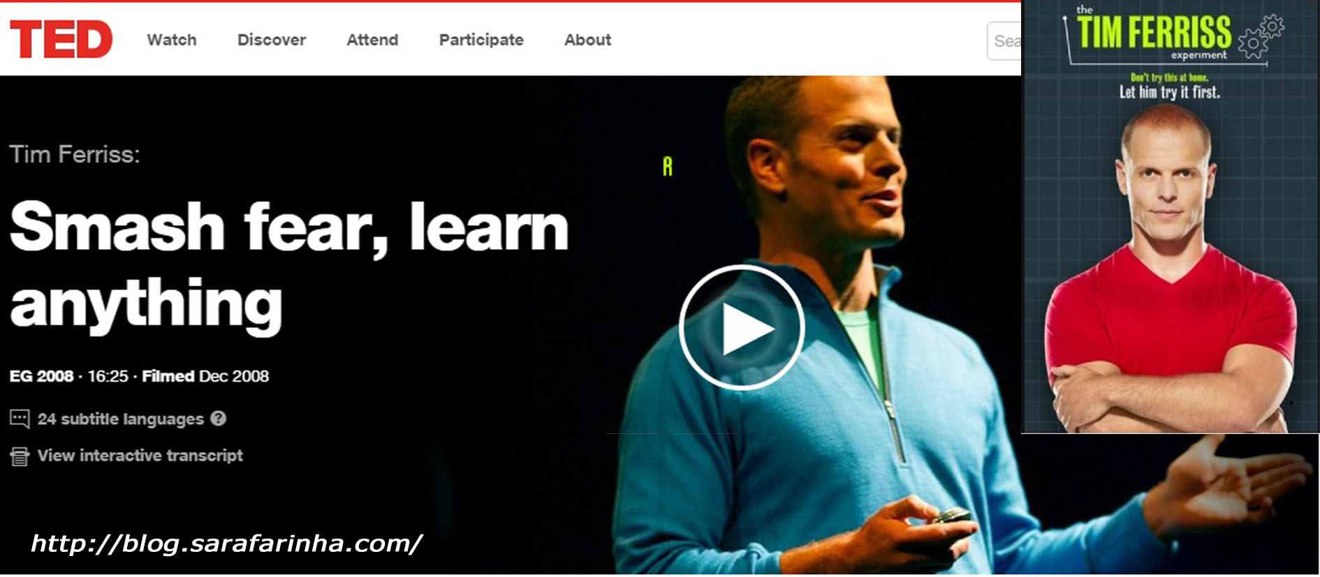 Tim Ferriss TED