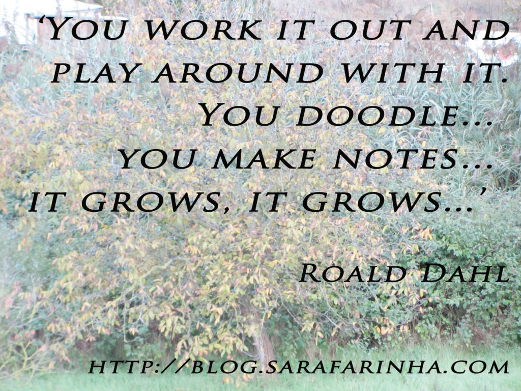 it grows_Roald Dahl