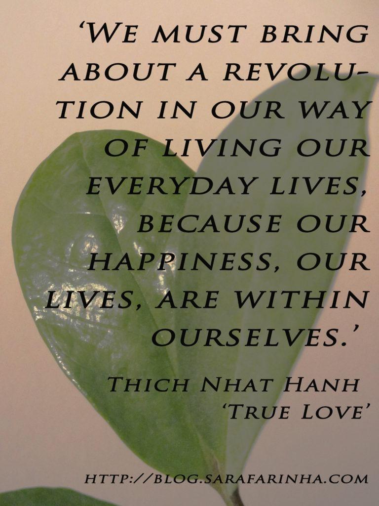 revolution_Thich Nhat Hanh