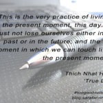 #Too good not to share: 'present moment'