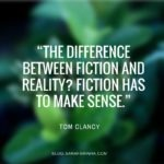 #Too good not to share: 'fiction and reality'