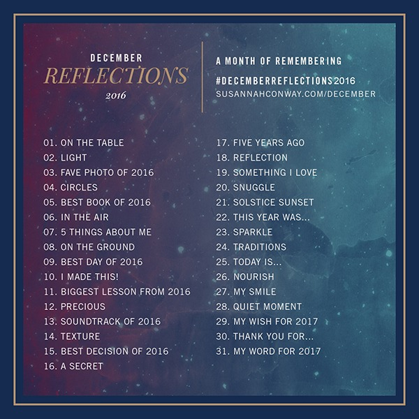 december reflections prompts