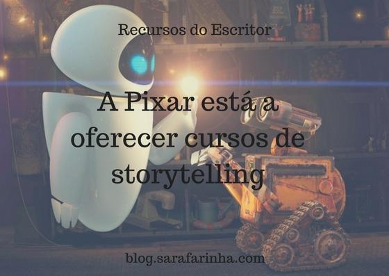 A Pixar está a oferecer cursos de storytelling