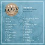 Diário de Bordo: #April Love 2017