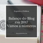 Balanço do Blog em 2017 – Vamos a números