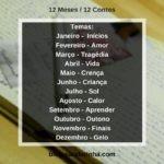 12 Meses/12 Contos: Janeiro, o mês de Inícios