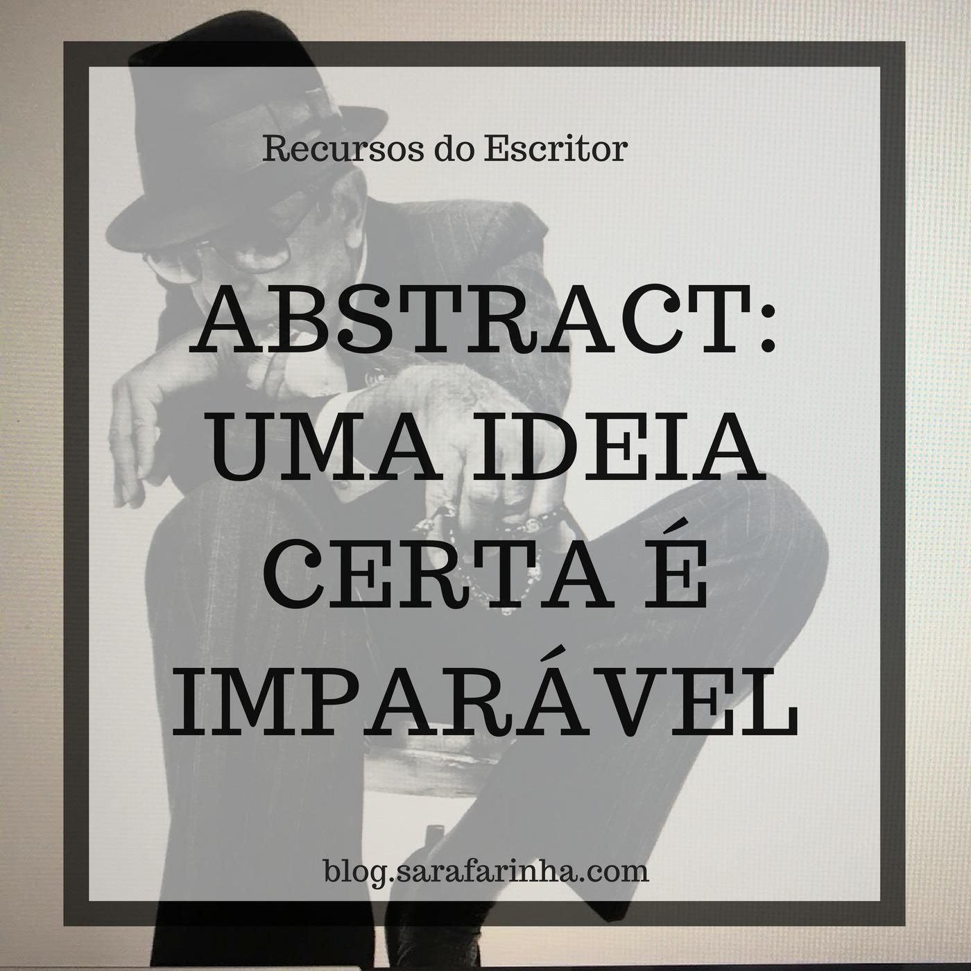 Abstract uma ideia certa é imparável