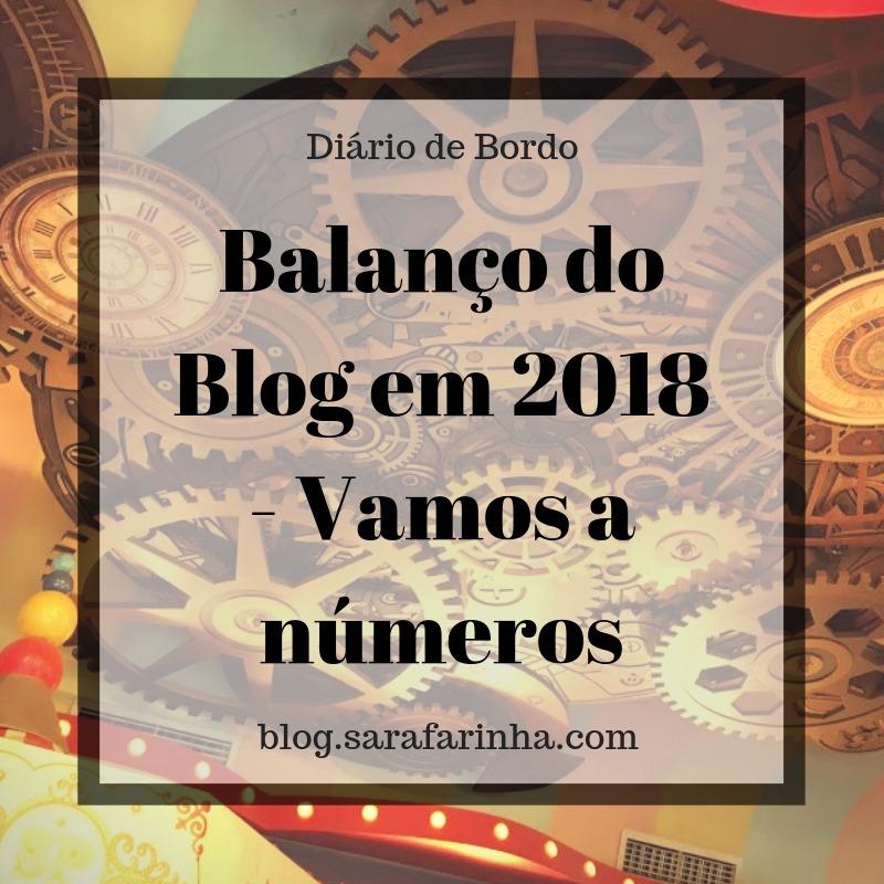 balanço do blog em 2018 - vamos a números