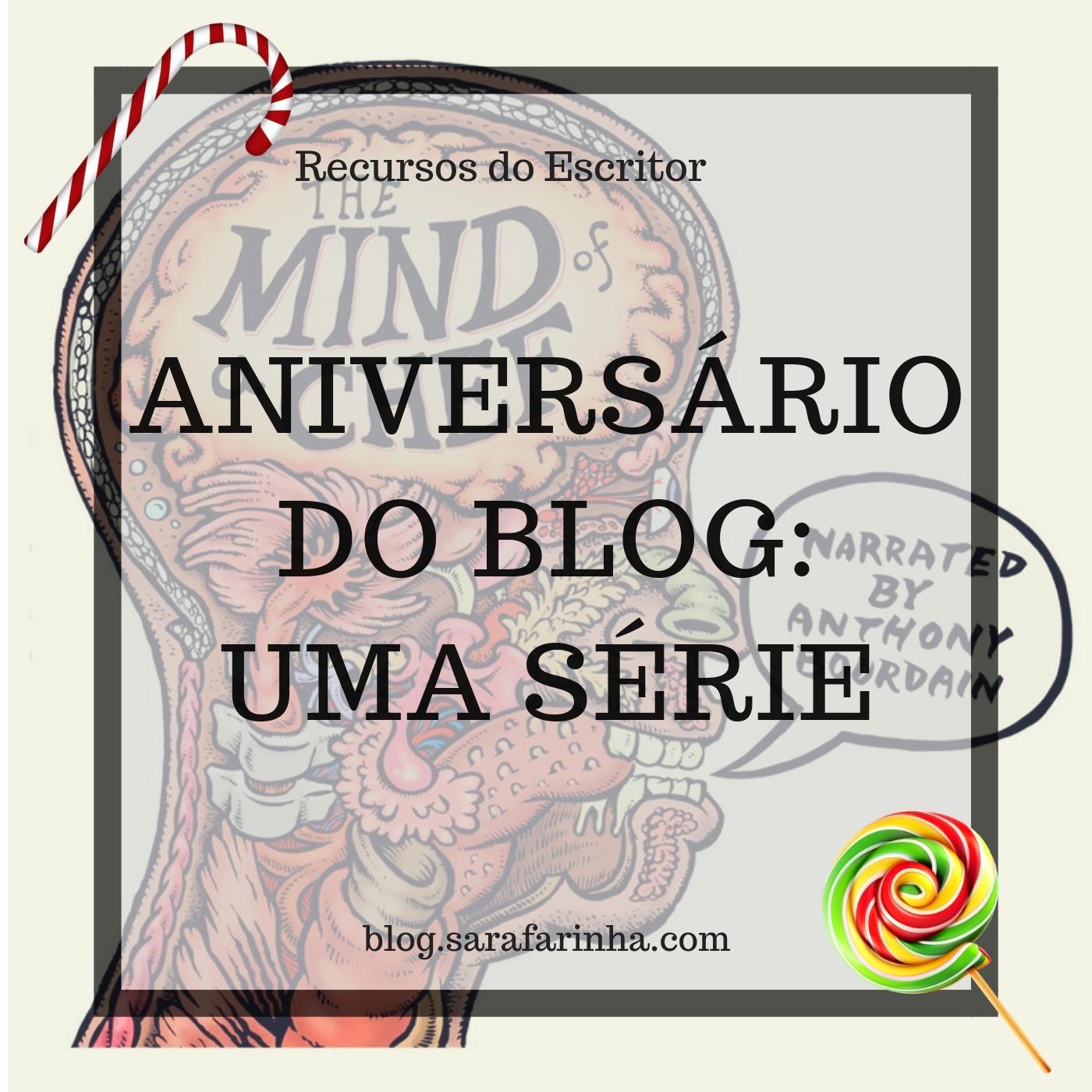 aniversário do blog uma série