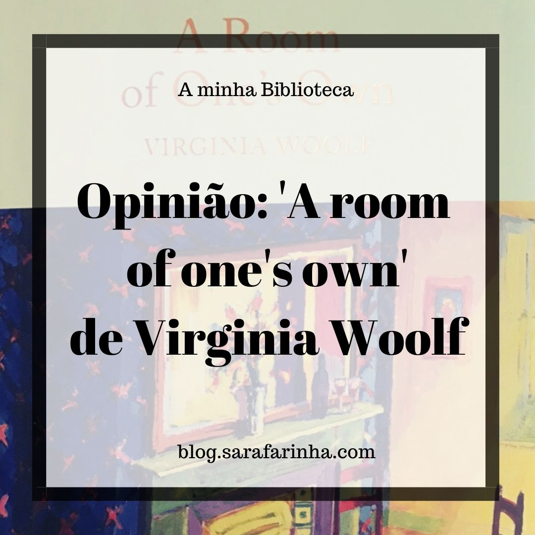 A room of one's own de Virginia Woolf