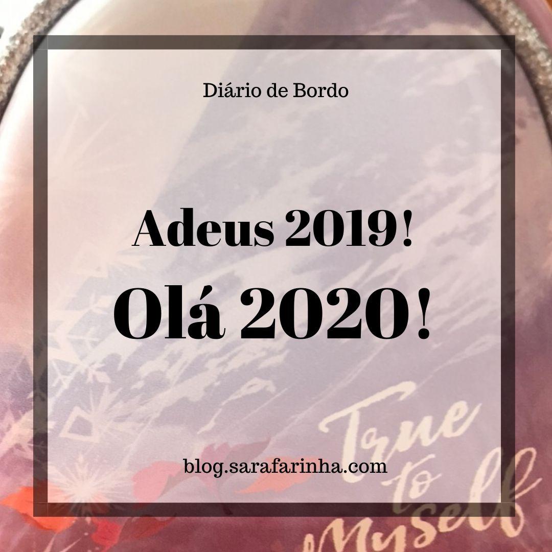 Adeus 2019 Olá 2020
