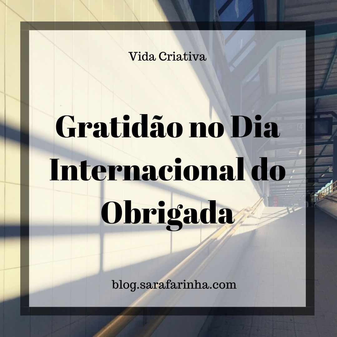 Dia Internacional do Obrigada