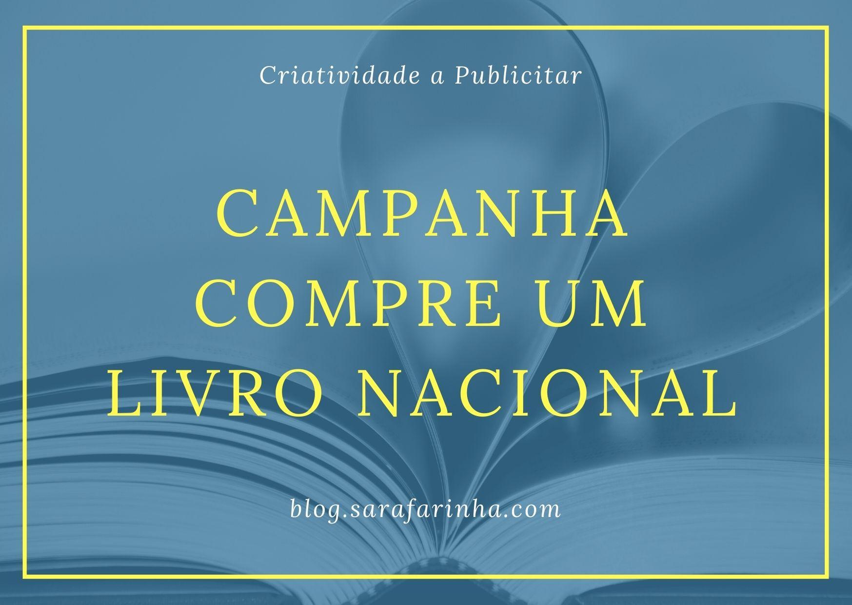 campanha compre um livro nacional