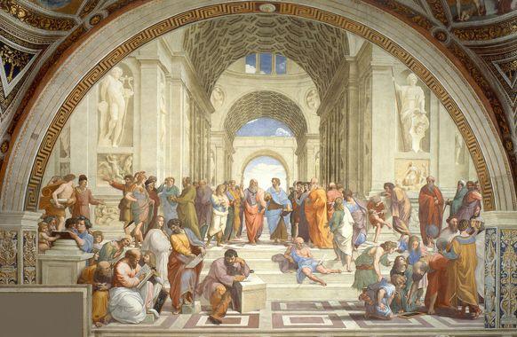 Escola de Atenas de Rafael