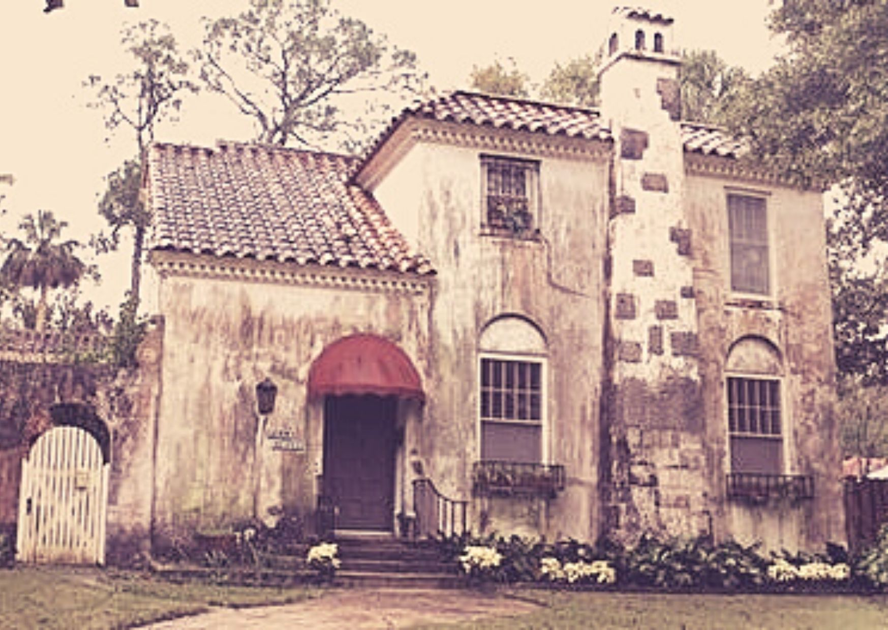 old spanish house