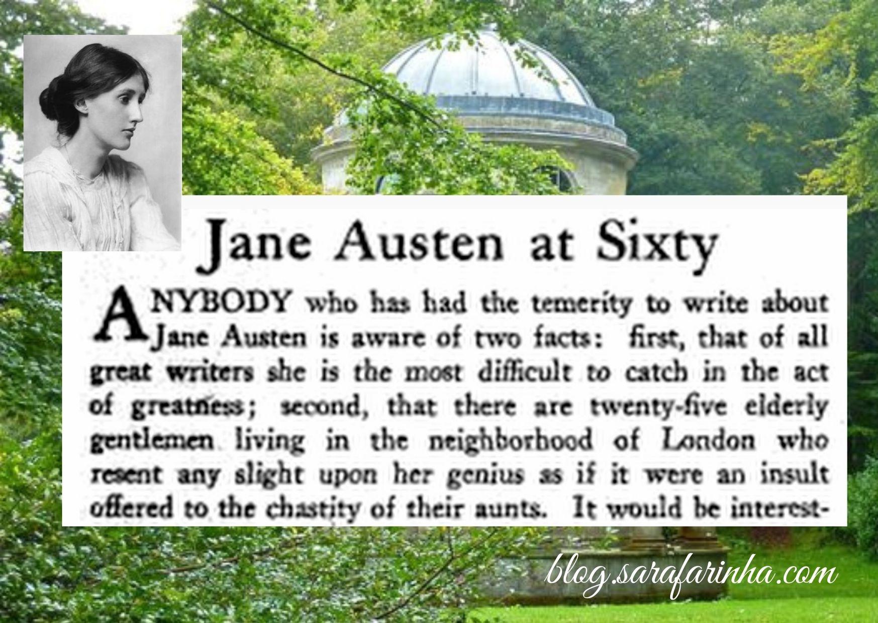 virginia woolf about Jane Austen