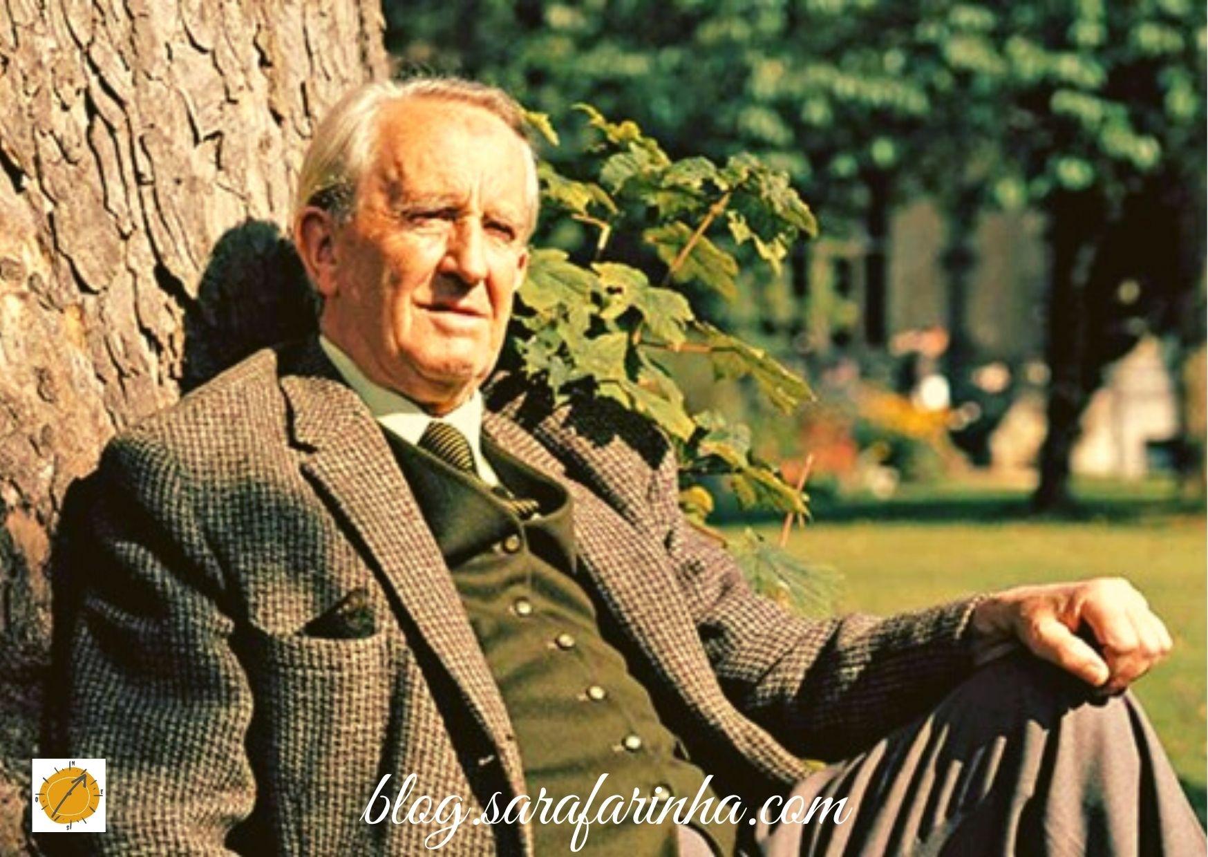 Tolkien smiling