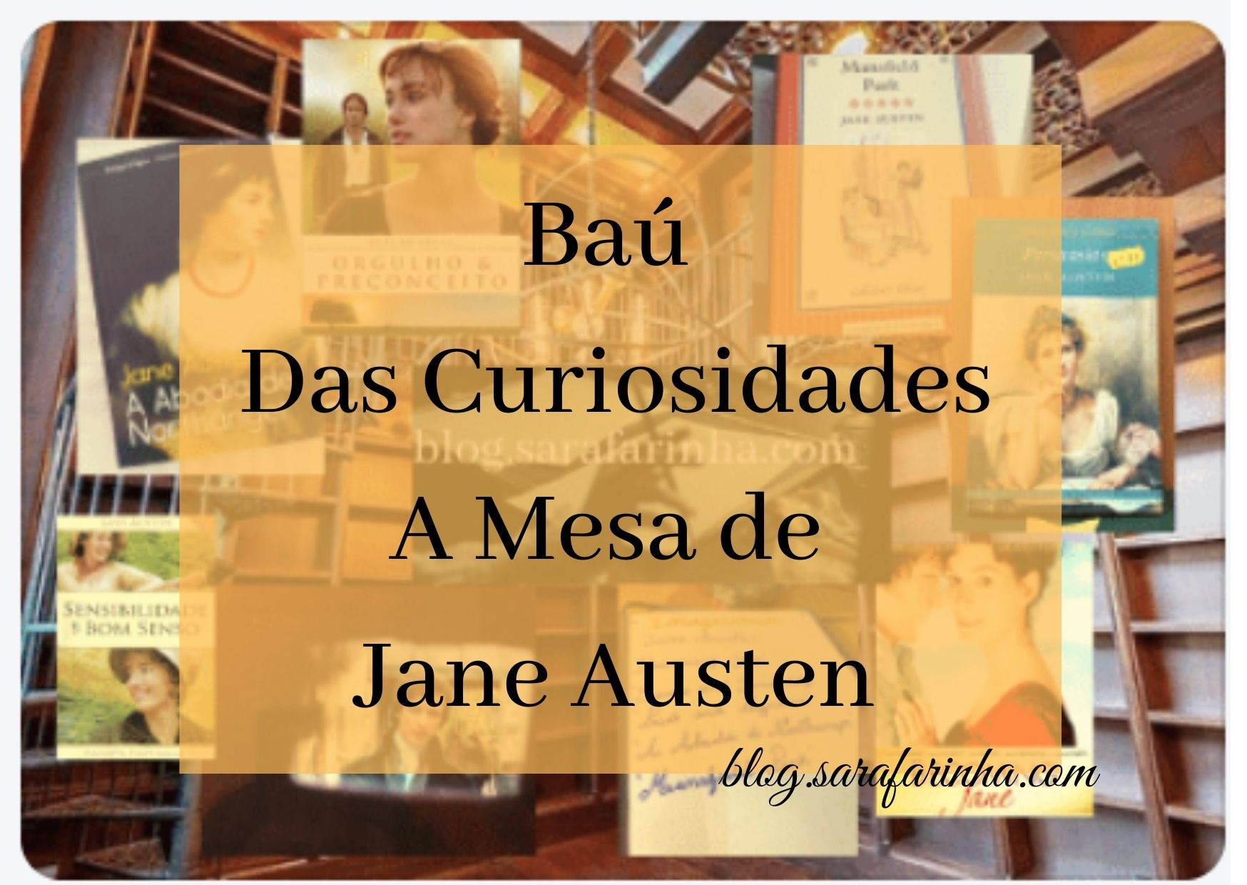 a mesa de Jane Austen